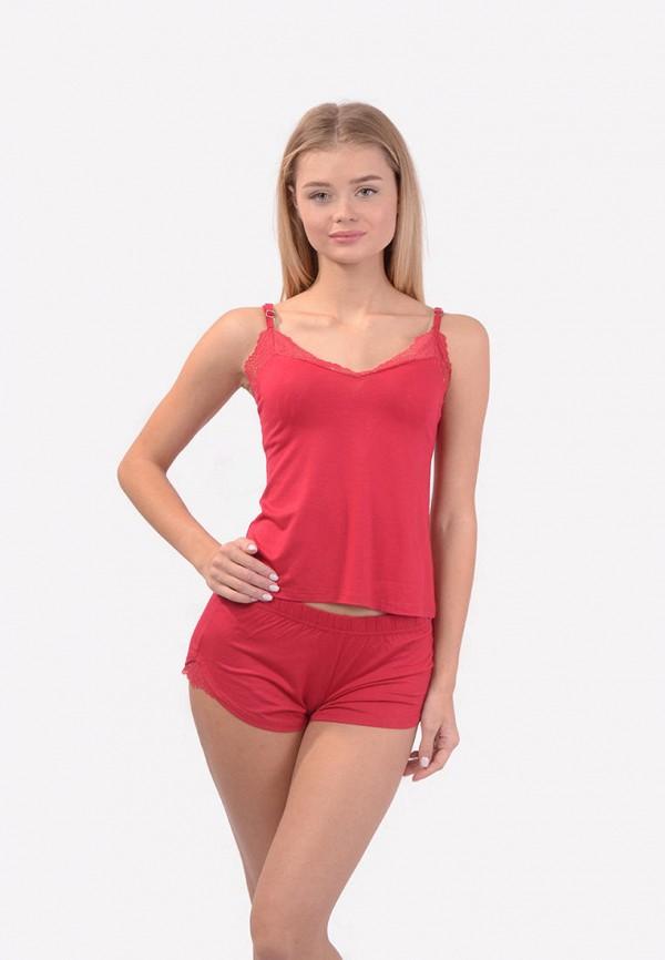женская пижама n.el, красная
