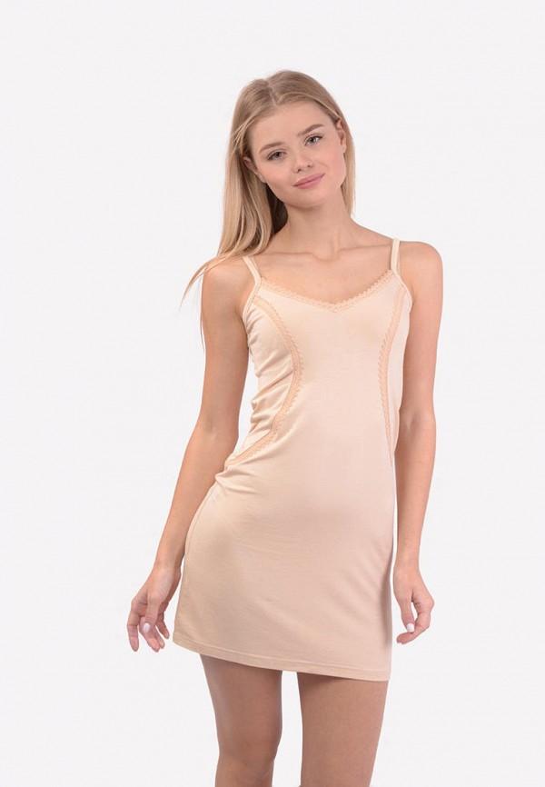 женские сорочка ночная n.el, бежевые