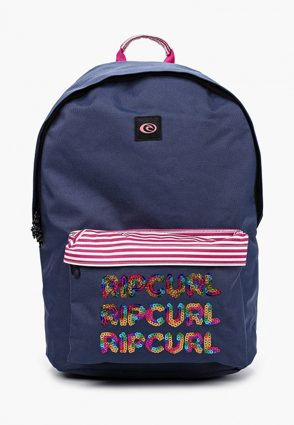 женский рюкзак rip curl, синий