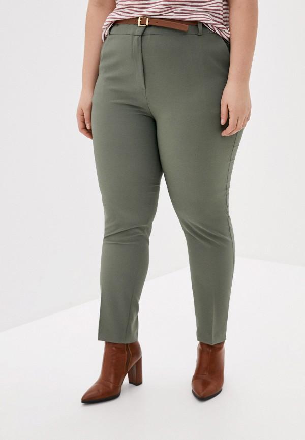 женские классические брюки joymiss, хаки