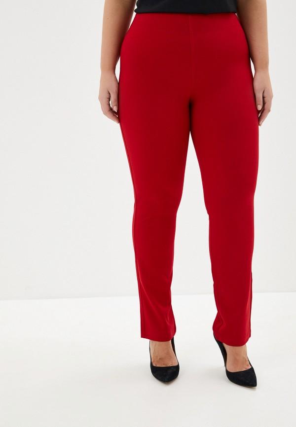 женские повседневные брюки ckc collections, красные
