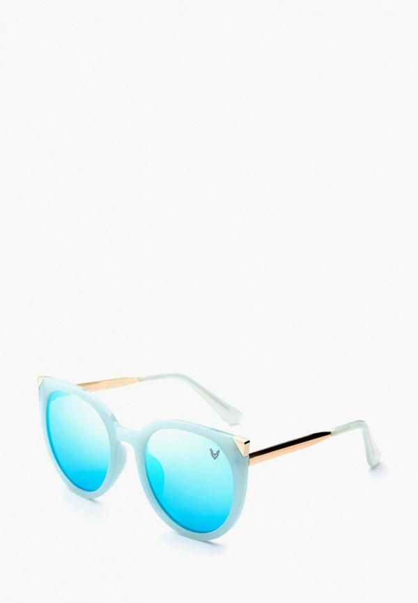 женские солнцезащитные очки alberto casiano, голубые