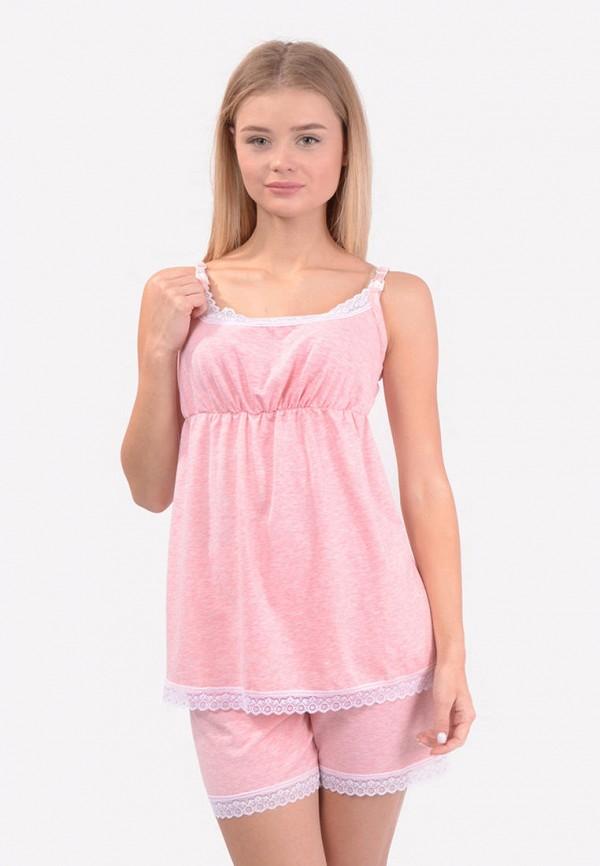 женская пижама n.el, розовая