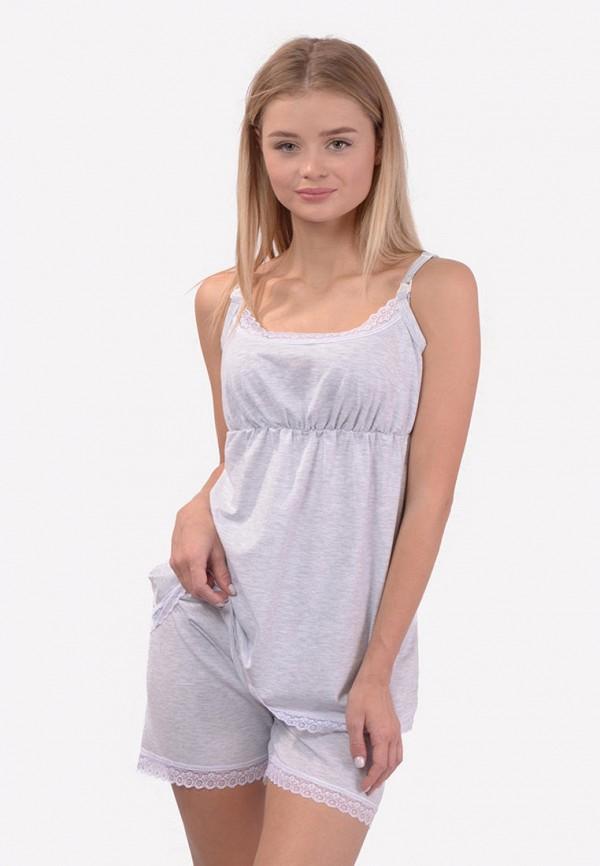 женская пижама n.el, серая