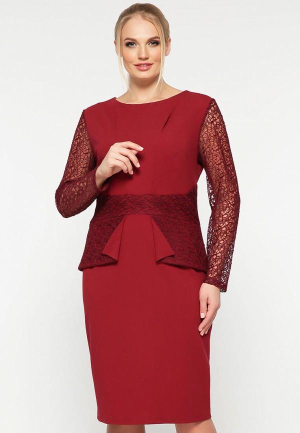 женское вечерние платье vlavi, красное