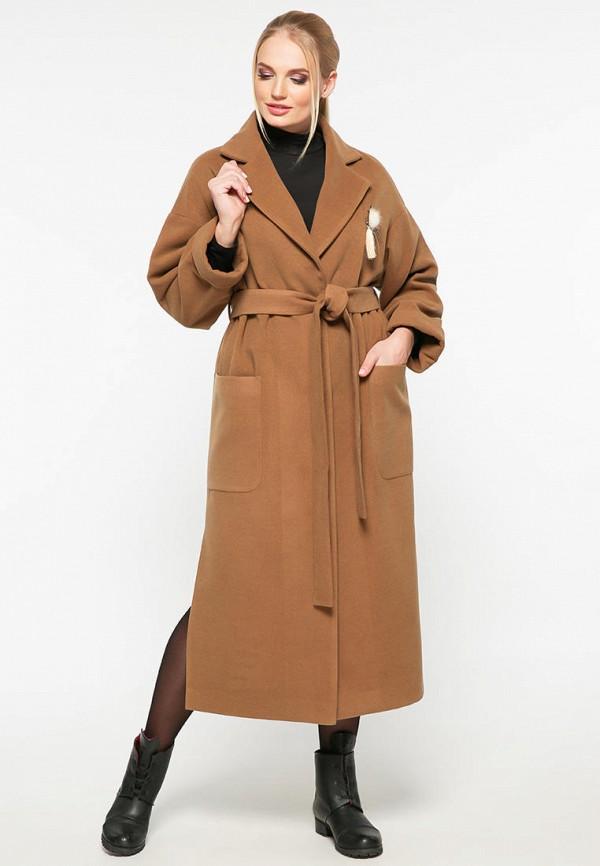 женское пальто vlavi, бежевое