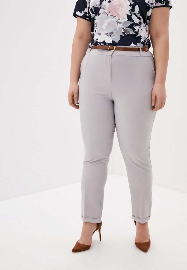 женские классические брюки joymiss, серые