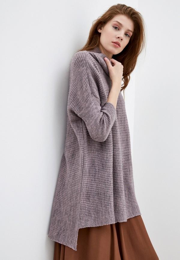 женское платье-свитеры сиринга, фиолетовое