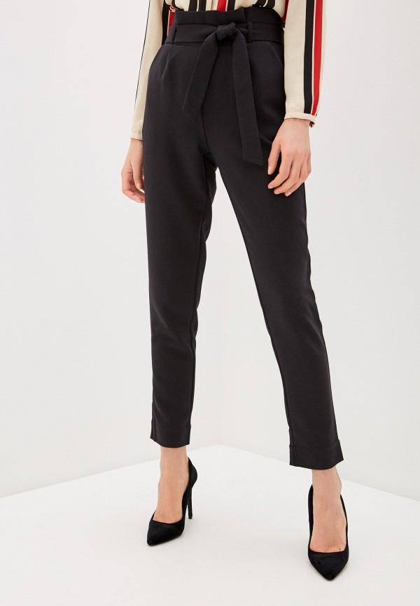 женские классические брюки olegra, черные