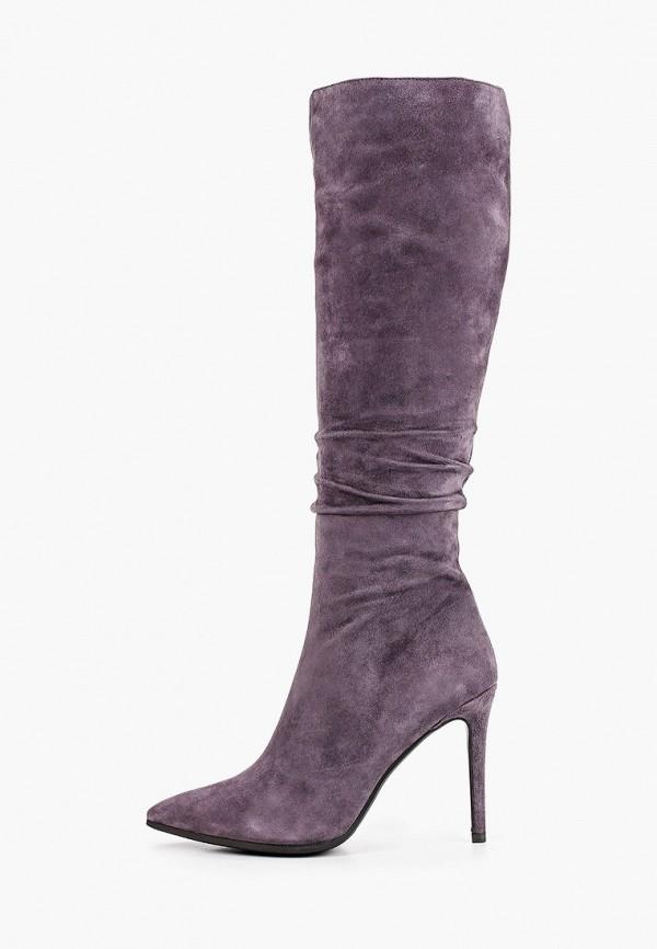 женские сапоги stivalli, фиолетовые