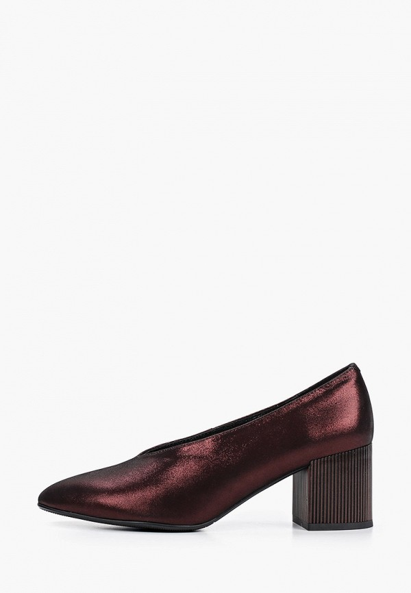 женские туфли с закрытым носом stivalli, бордовые