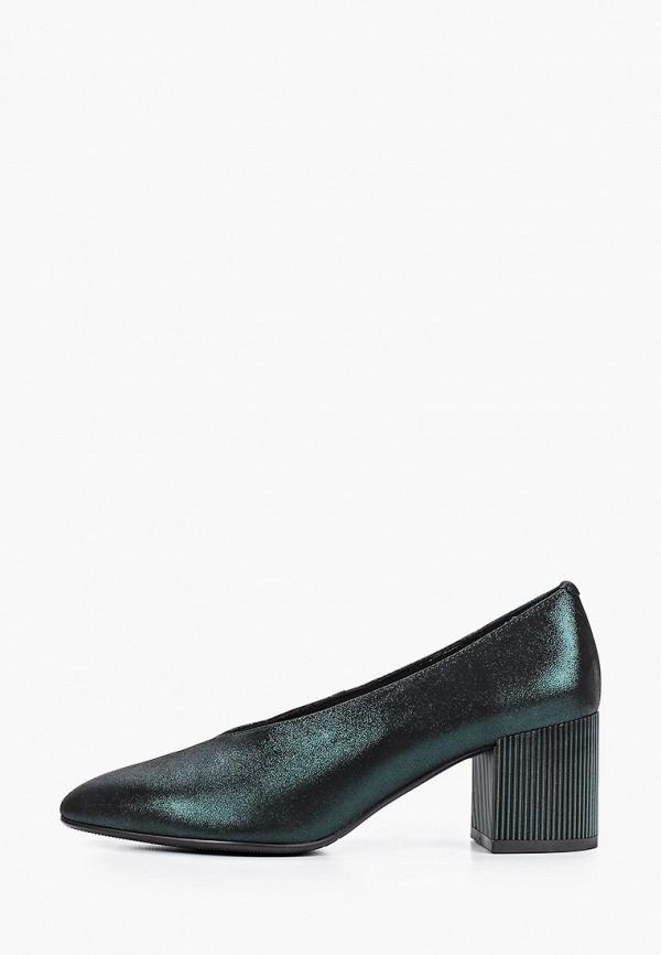 женские туфли с закрытым носом stivalli, зеленые