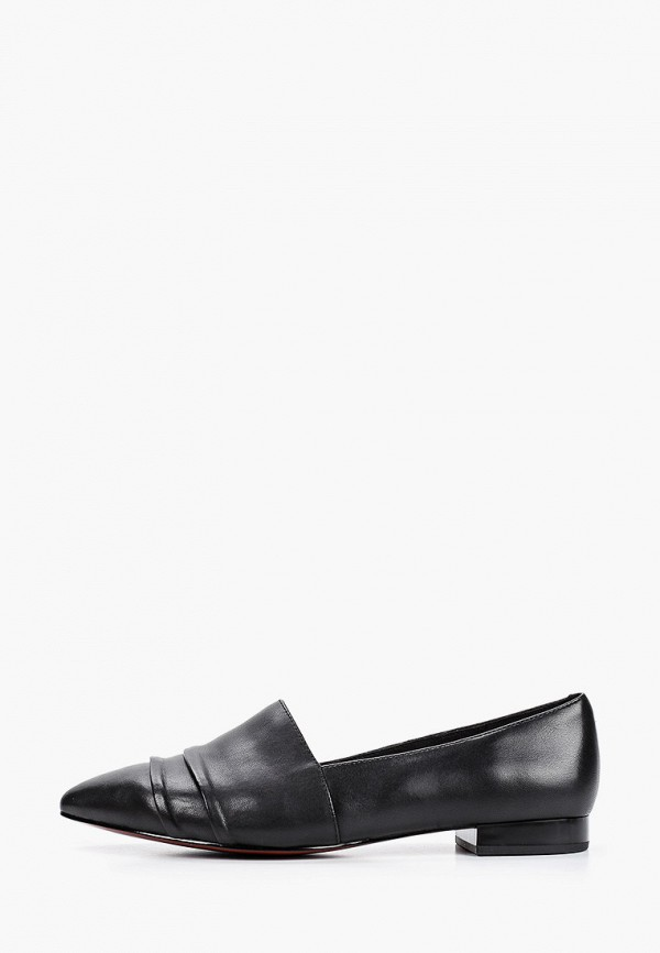 женские туфли с закрытым носом stivalli, черные