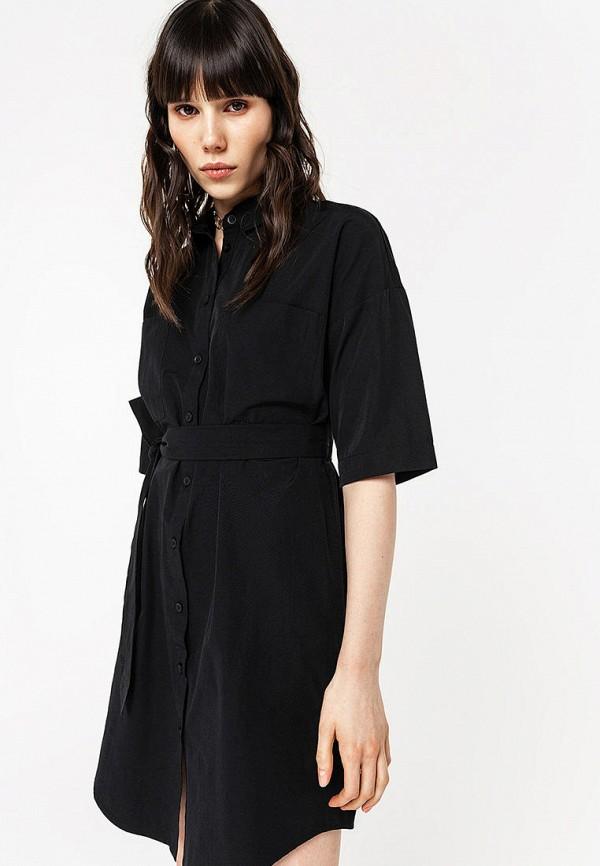 Фото - Женское платье Befree черного цвета