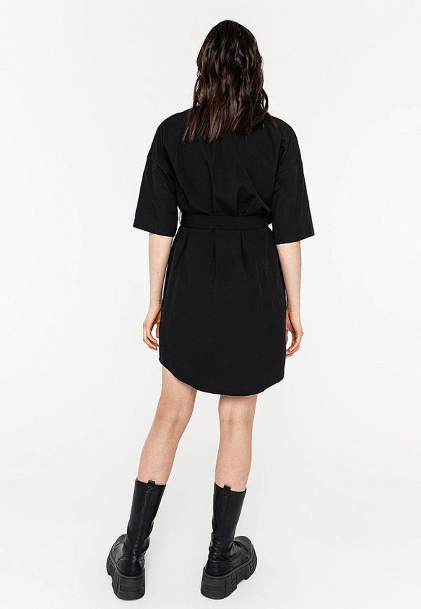 Фото 3 - Женское платье Befree черного цвета