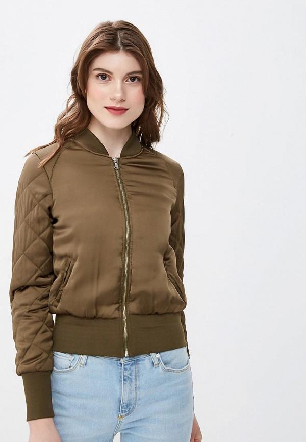 женская куртка moon river, зеленая
