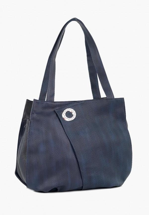 женская сумка vita, синяя