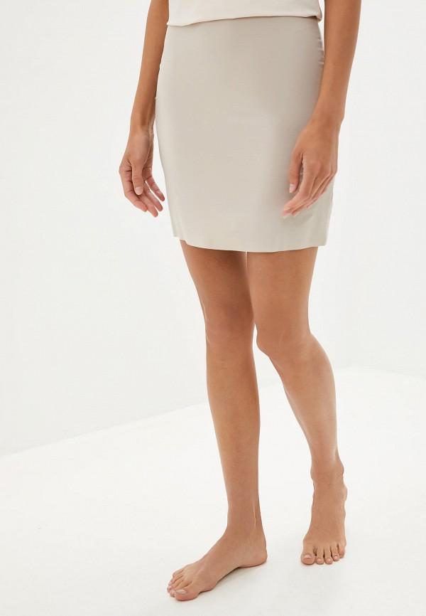 женская юбка intimissimi, бежевая