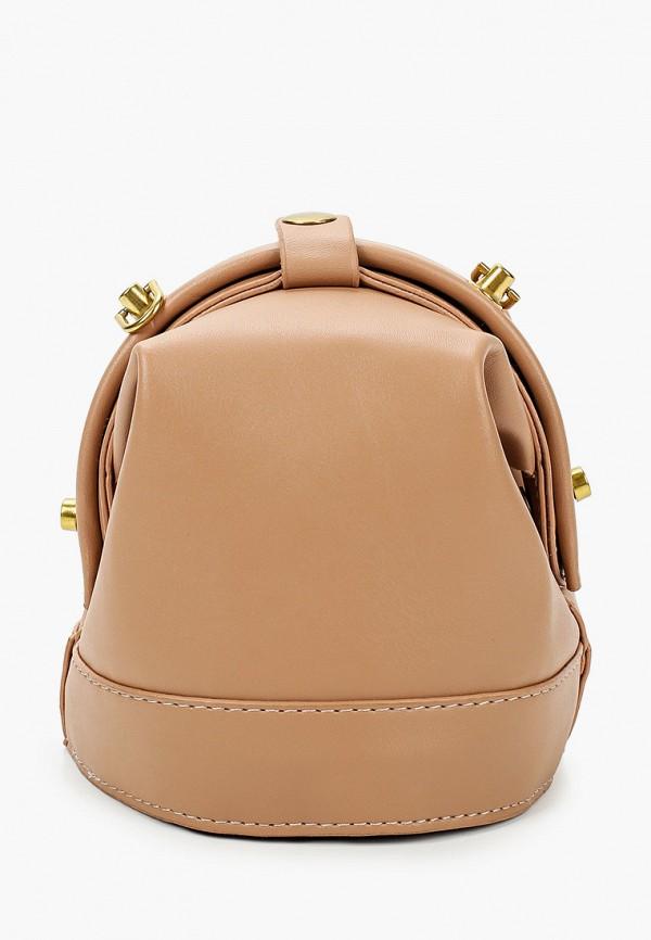 женская сумка через плечо артми, бежевая