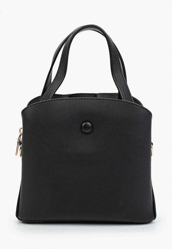 женская сумка через плечо артми, черная
