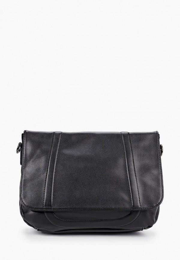 женская сумка с ручками артми, черная
