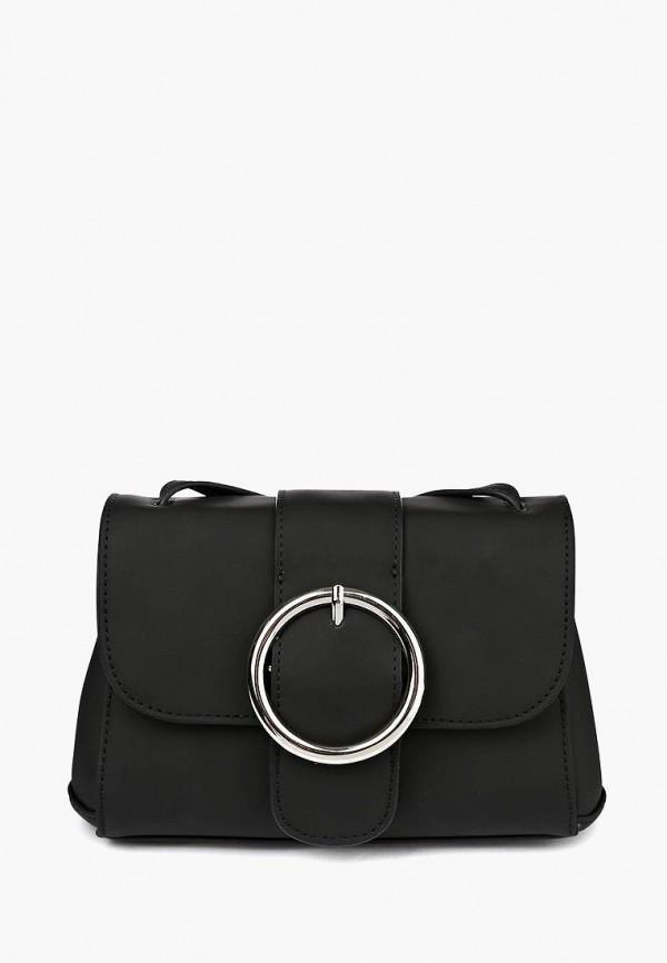 женская сумка через плечо portal, черная