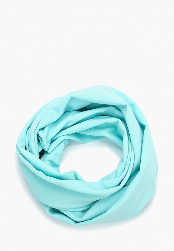 женский шарф sensy, бирюзовый