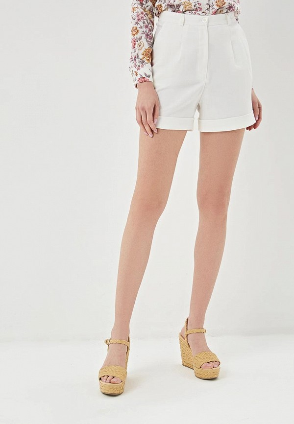 женские шорты astravita, белые