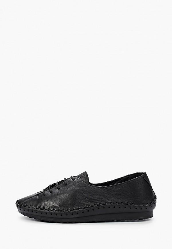 женские низкие ботинки airbox, черные