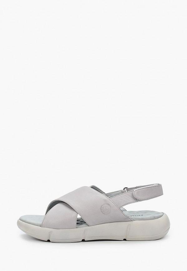 женские сандалии airbox, серые