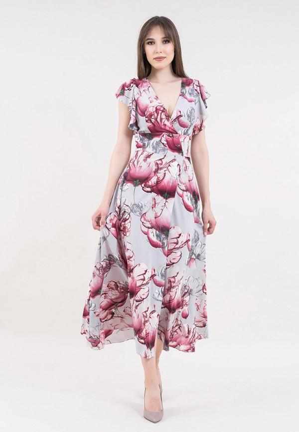 женское повседневные платье maxa, серое