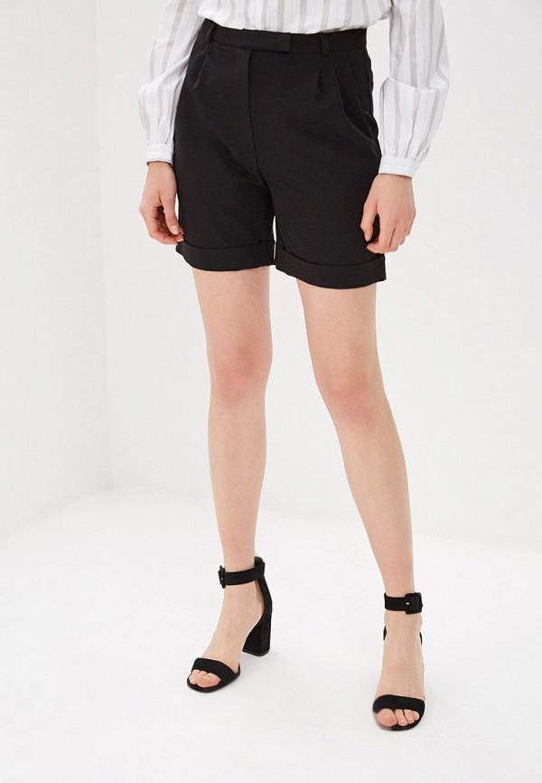 женские повседневные шорты sugarlife, черные