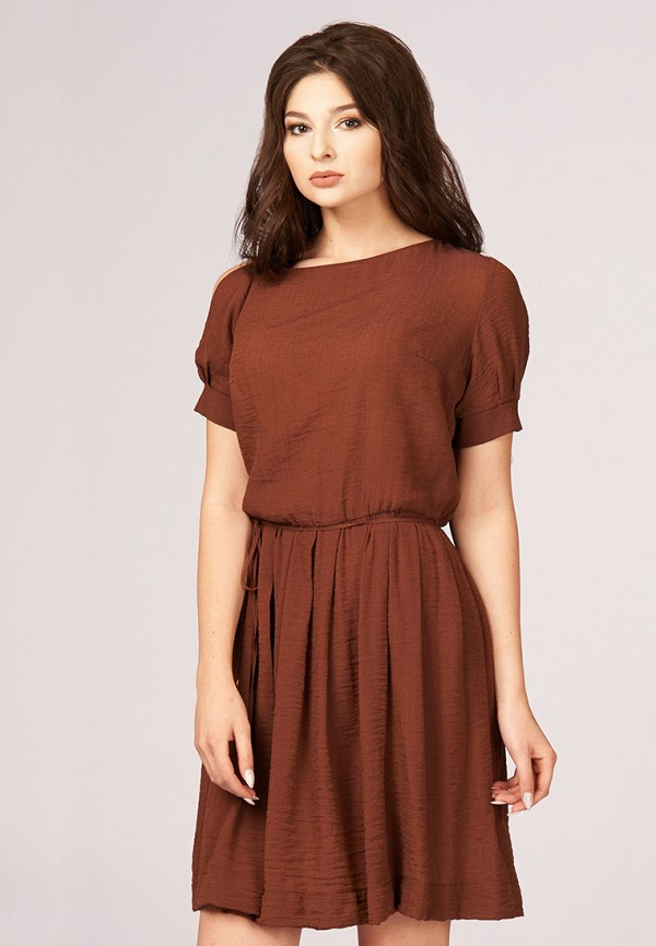 Купить Платье Ано, mp002xw0fxw8, коричневый, Весна-лето 2019
