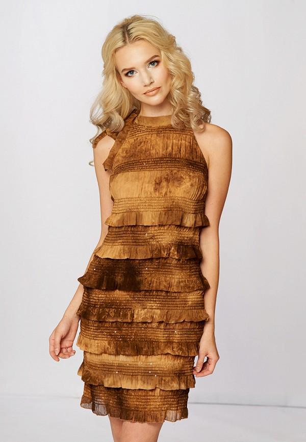 Купить Платье Ано, MP002XW0FXWF, коричневый, Осень-зима 2017/2018