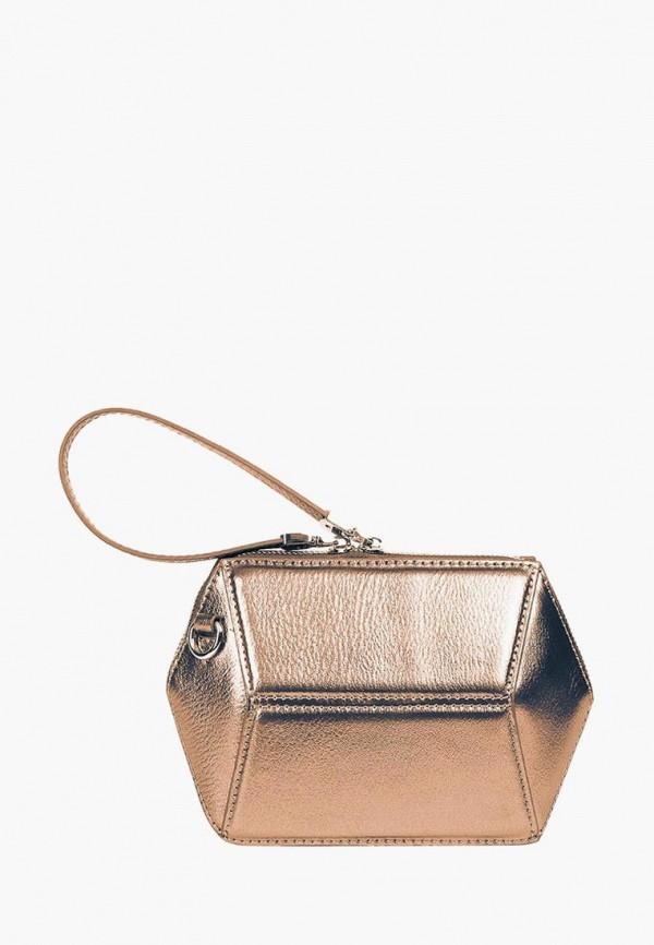 женская сумка через плечо jane's story, золотая