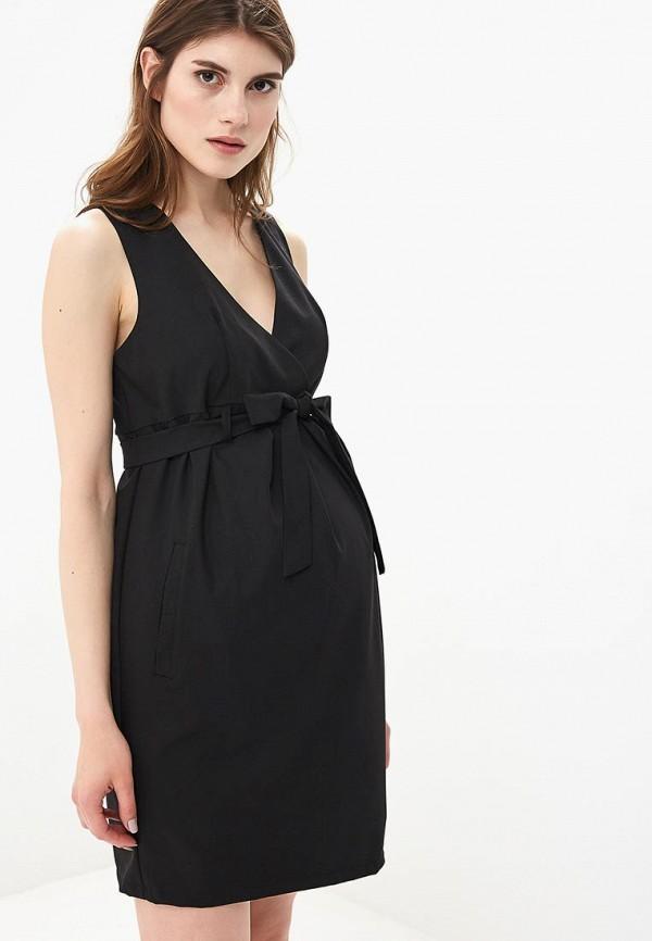 Фото - Женское платье 9Месяцев 9Дней черного цвета