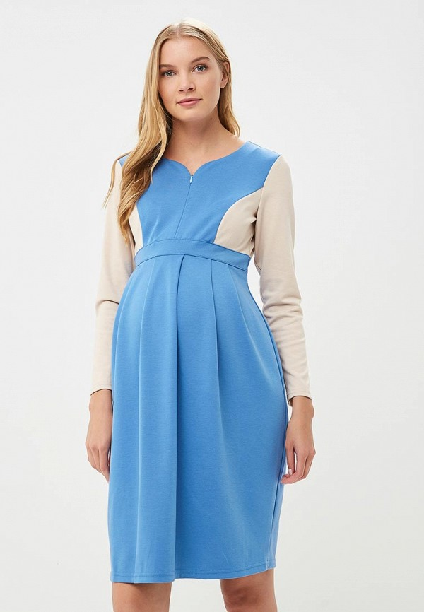 Фото - Платье 9Месяцев 9Дней голубого цвета