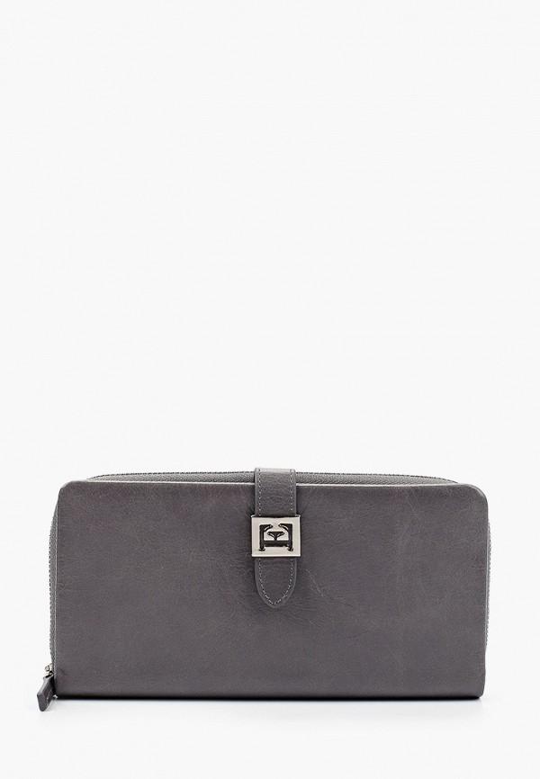 женский кошелёк eleganzza, серый
