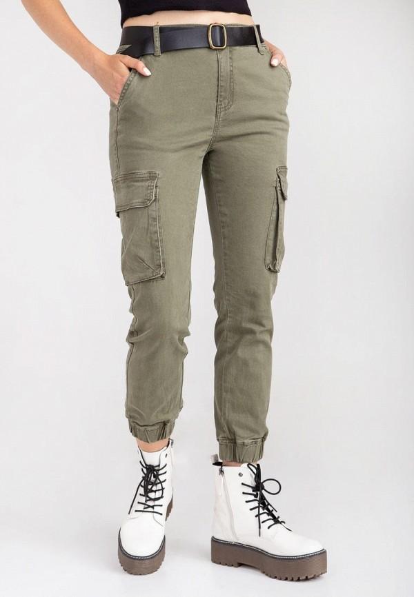 женские брюки das, хаки