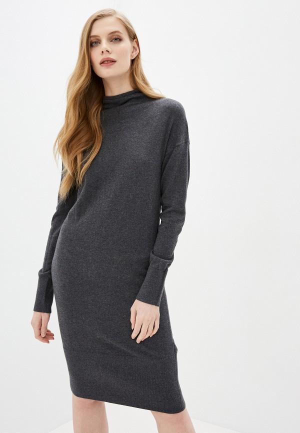 женское платье-свитеры sela, серое
