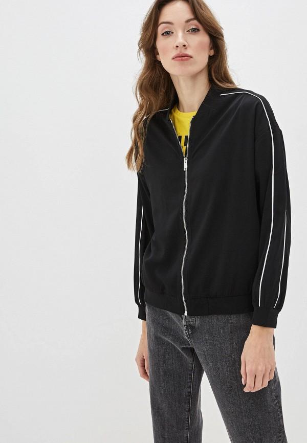 женская олимпийка sela, черная