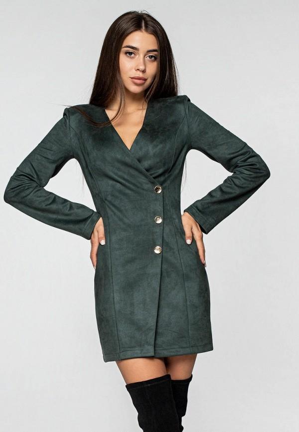 женское платье itelle, зеленое