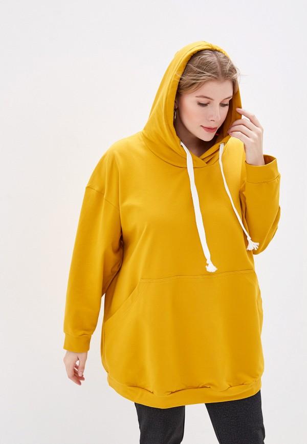 женские худи irma dressy, желтые