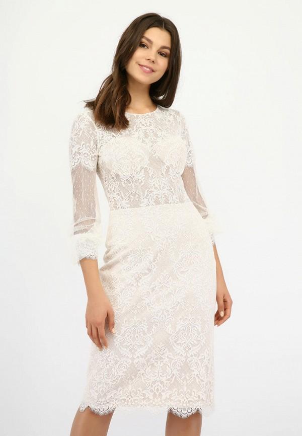 женское вечерние платье miodress, белое