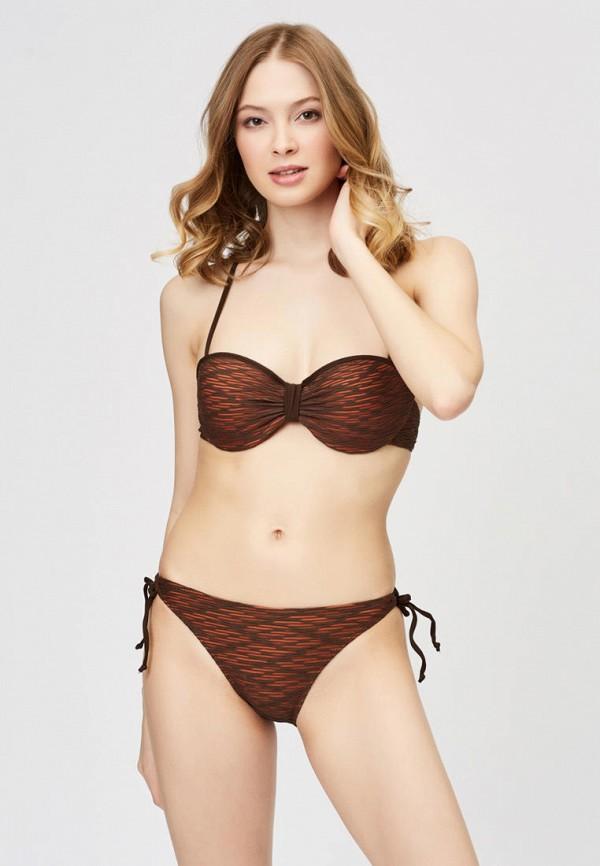 женский купальник argento, коричневый