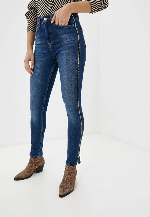 женские прямые джинсы tom farr, синие