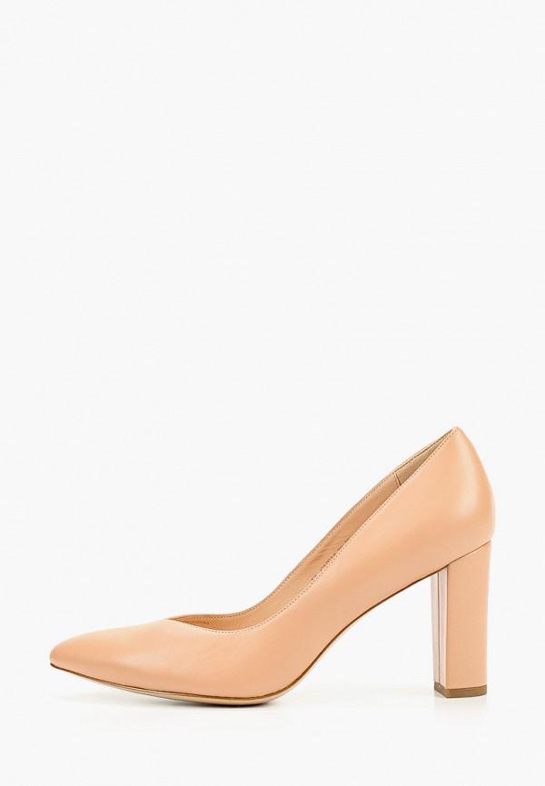 женские туфли с закрытым носом pazolini, розовые