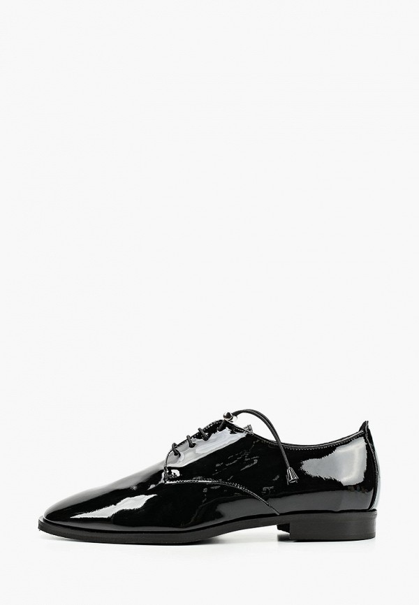 женские туфли с закрытым носом pazolini, черные