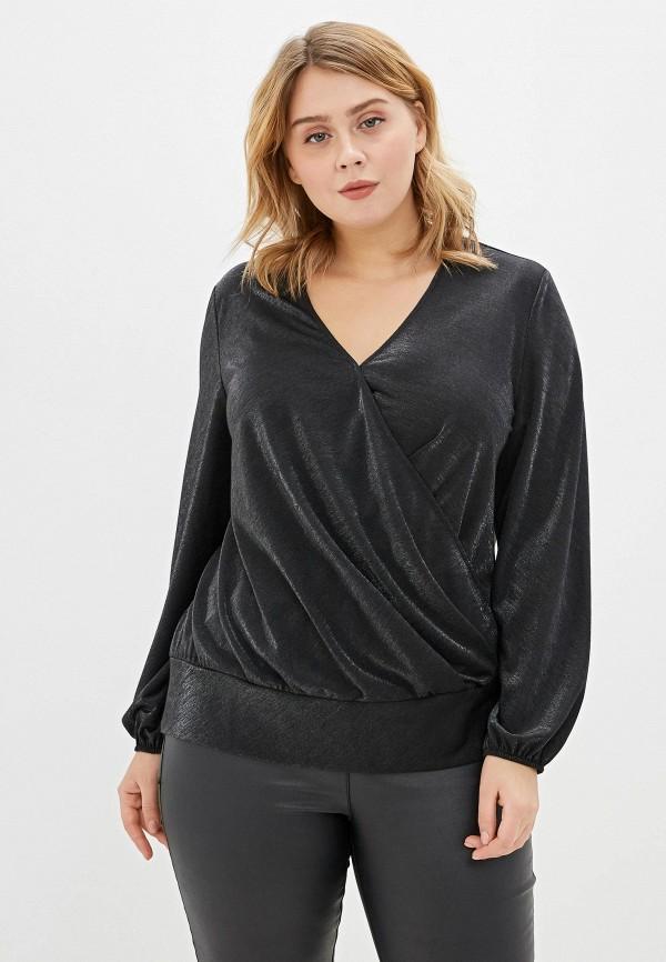 Блуза ASV Fashion Design ASV Fashion Design  черный фото
