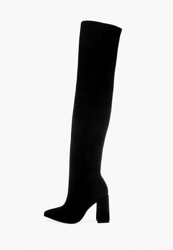 женские ботфорты emmelie delage, черные